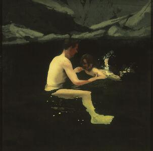 Melanie and Me Swimming , 1978 – 1979