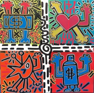 Untitled (Keith Haring Tribute)