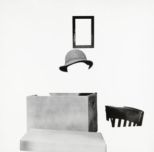 Box, Hat, Frame and Chair