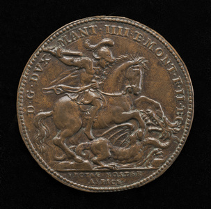 Saint George and the Dragon [reverse]