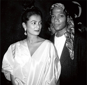 The Rise of Basquiat - Gallerist Mary Boone and Jean-Michel Basquiat.
