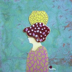 Donna con Vaso