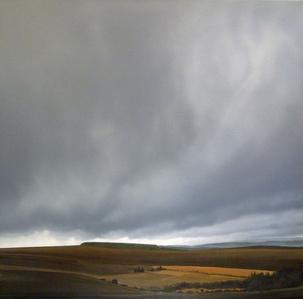 Dartmoor in low cloud