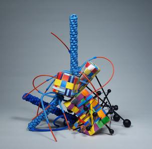 Three Blue Sticks