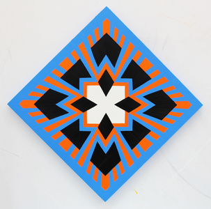 Orangeblue (diamond display)