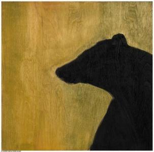 Black Bear Silhouette, (Montana)
