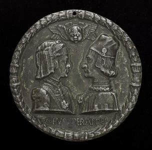Ercole I d'Este, 1431-1505, Duke of Ferrara, and Eleonora of Aragon, 1450-1493, His Wife 1473 [obverse]