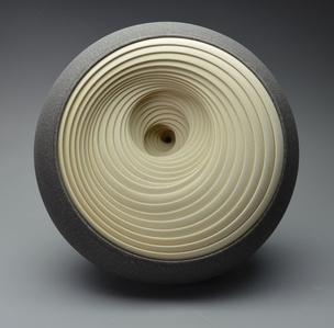 Spiral Twist (grey/cream)