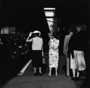 Chicago: Two Women on Sidewalk (58-CF-3)