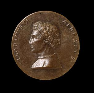 Leone Battista Alberti, 1404-1472, Architect and Writer on Art and Science [obverse]