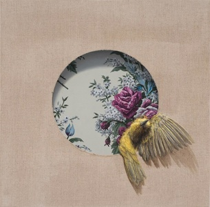 The Goldfinch and the Wallpaper