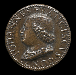 Gianfrancesco Gonzaga di Rodigo, 1445-1496, Lord of Bozzolo, Sabbioneta, and Viadana 1478 [obverse]