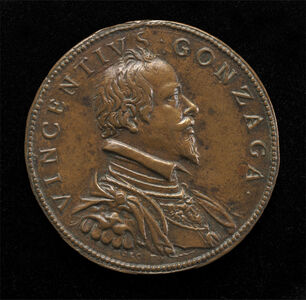 Vincenzo Gonzaga, 1562-1612, 4th Duke of Mantua 1587 [obverse]