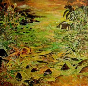 Tropical river con flow IV