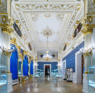 Fabergé Museum in St. Petersburg, The Blue Room