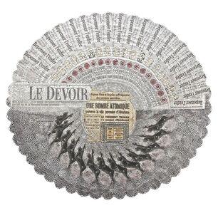 Le Parisien, 1945 / Le Devoir, 100 ans après
