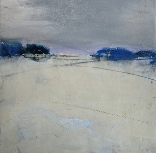 Composition with Gray and Blue