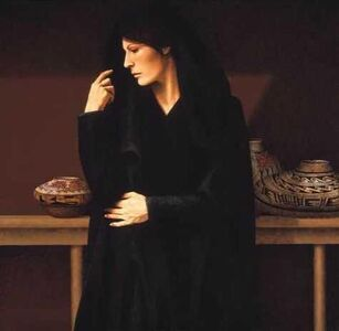 Woman With Pottery