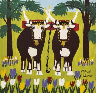 Springtime Oxen