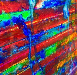 Untitled (Acid Flag II) detail 1