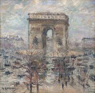 L'Arc de Triomphe, Place de l'Etoile