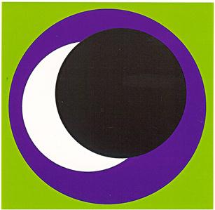 Circle vert/noir