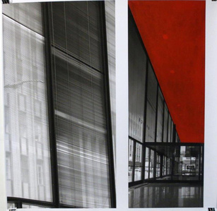 Mies Drawing (Red)