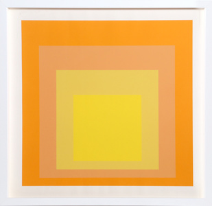Interaction of Color: Homage to the Square (Yellow)