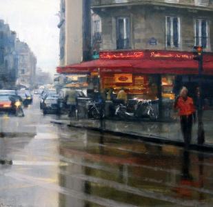 Rain, Left Bank