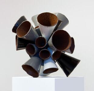 Grayscale Pipe Burst