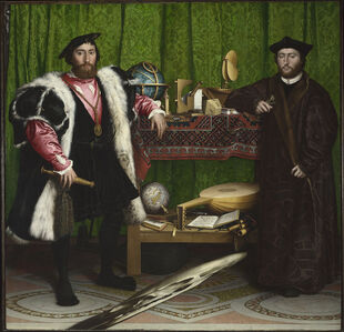 Jean de Dinteville and Georges de Selve ('The Ambassadors')