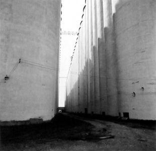 Large grain elevators- Enid, Oklahoma