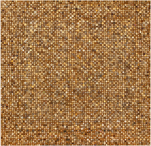 Afinidades cromáticas - Dourado