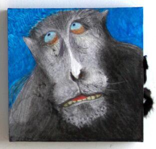 Black Macaw - Endangered Primate Series