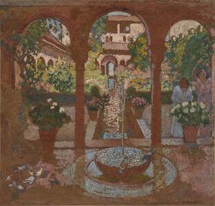 Garden of the Generalife in Granada