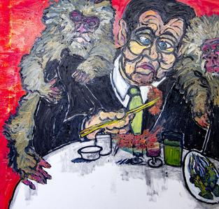 Man, Sushi, & Monkeys