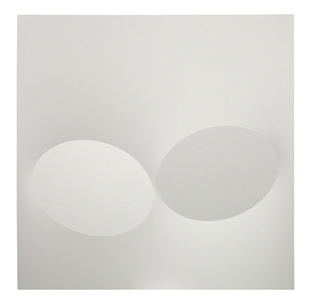 2 ovali bianchi