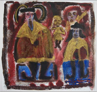 Códice Hernadino-Mixteco (carpeta con 37 acuarelas
