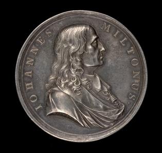 John Milton, 1608-1674, Poet [obverse]