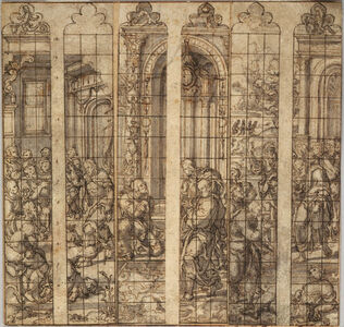 Three Designs for Stained Glass Windows