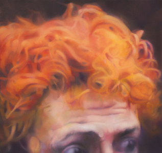 Untitled (portrait of a man with red hair)