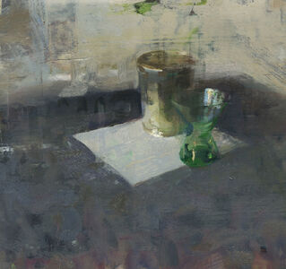 Still Life with Green Glass