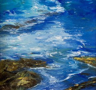 Swirling Sea