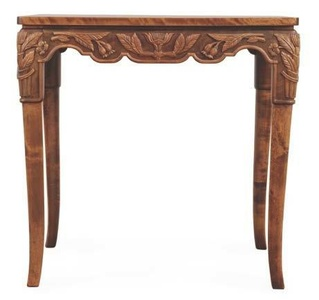Hand Carved Table