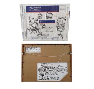 """Priority"", USPS Priority Envelope with Drawings"