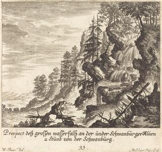 Large Waterfall, Schwanburg