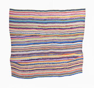 The Third Vertical Rag Rug