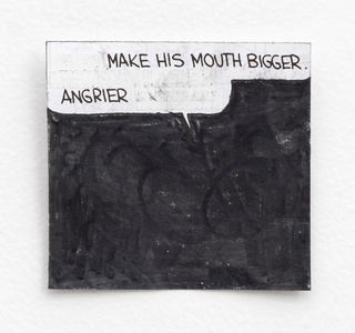 Make His Mouth Bigger, Angrier