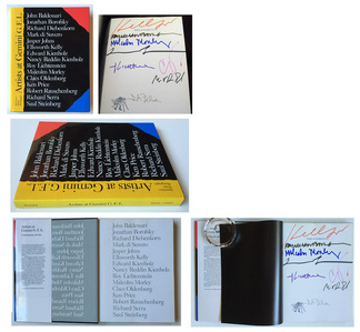 """25 Years Studio Gemini G.E.L.""  signed by 8 artists."