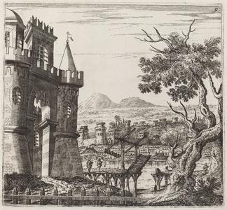 Landscape with a Castle and a Drawbridge